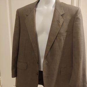 Oleg cassini  Suit Jacket blazer Gray 38R